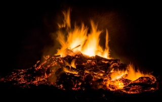 Picture of Team bonfire party