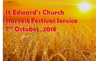 9.30am Harvest Festival @ St Edward's Church